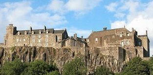 Stirling Castle. You could be here...